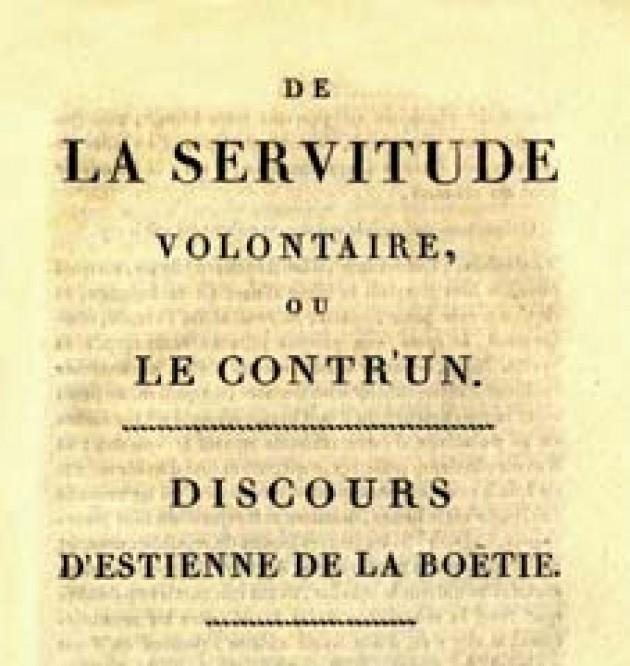 La Boétie y el tirano