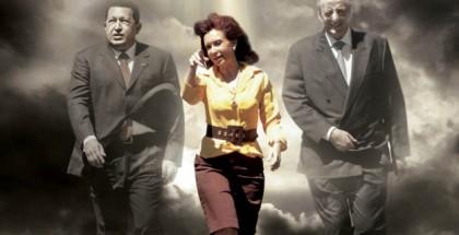 CFK-kirchner-chavez