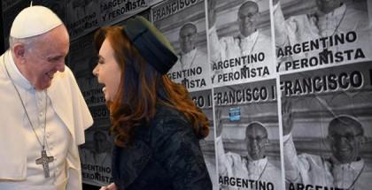 Papa Francisco y CFK
