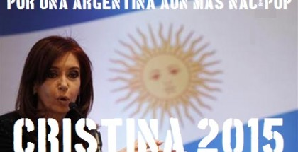 Argentina's President Fernandez de Kirchner addresses Turkish and Argentine business people during a luncheon in Istanbul